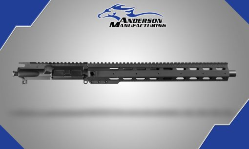 """Anderson 16"""" 223 wylde target crown Upper with 15"""" EXT Forearm No BCG or Charging Handle"""