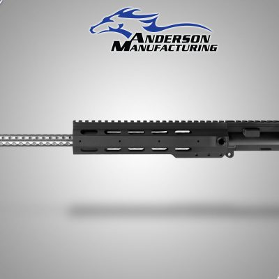 "Anderson 16"" UPPER With EXT FOREARM AND GOLF BALL BARREL No BCG or Charging Handle"