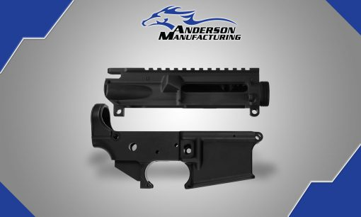 AM-15 Stripped Upper & Lower Receivers – 25 Pack
