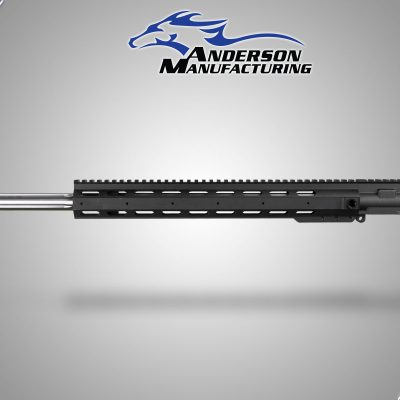 "EXT 24"" Stainless Steel Fluted Barrel Complete Upper, No Bolt Carrier Group or Charging Handle."