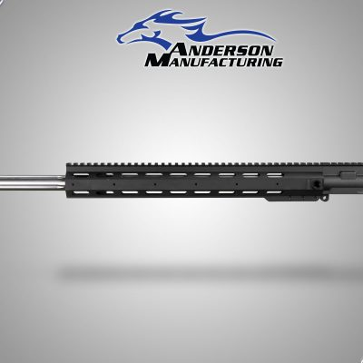 "EXT 24"" Stainless Steel Fluted Barrel Complete Upper with BCG and Tactical Charging Handle"