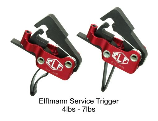 Elftmann Tactical Service Trigger - Straight or Curved Style