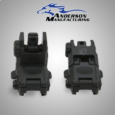 Flip Up Rear Sight, Magpul – Black