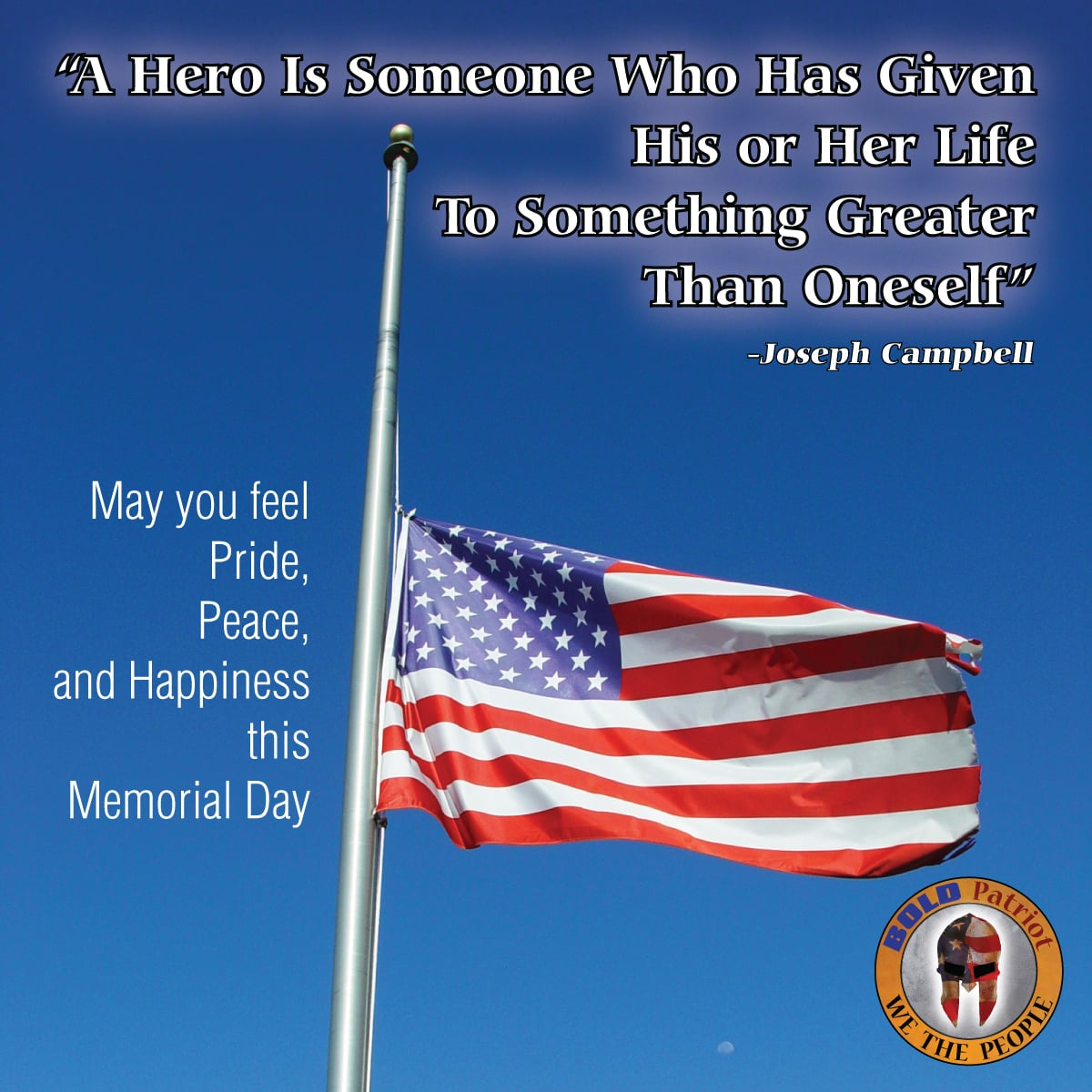 May you have Peace on this Memorial Day.