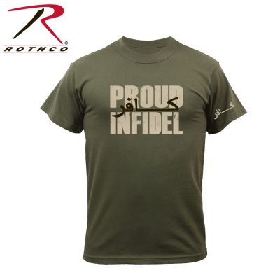 Proud to Be an Infidel T-Shirt by: Rothco