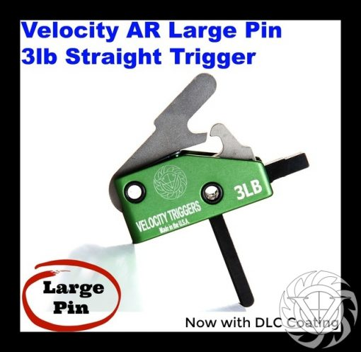 Velocity AR-15 3 Lb Straight Large Pin Drop-In Trigger