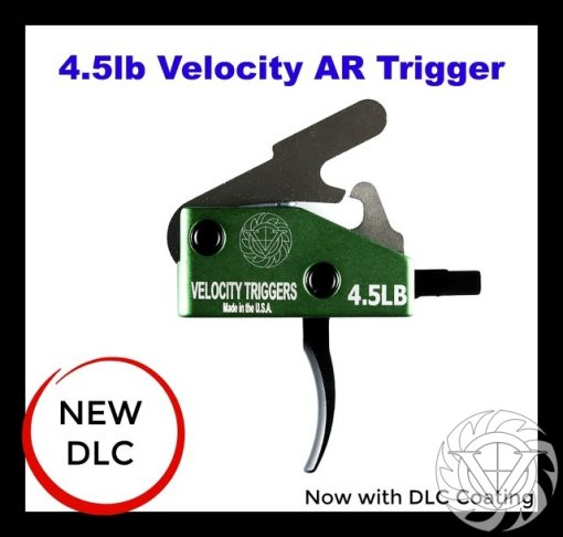 Velocity AR-15 4.5 Lb Curved Drop-In Trigger