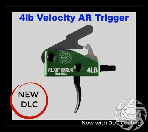 Velocity AR-15 4 Lb Curved Drop-In Trigger