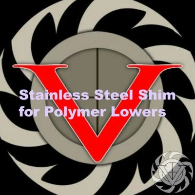 Velocity Triggers Stainless Steel Shim for Polymer Lowers